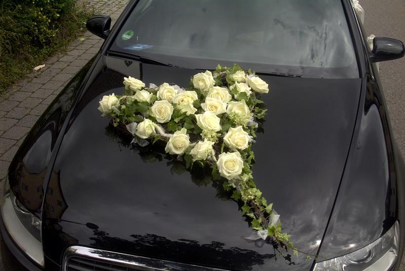 Hochzeit Autoschmuck Modern Pictures to pin on Pinterest