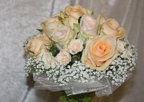 Brautstrauß - Blumenzauber